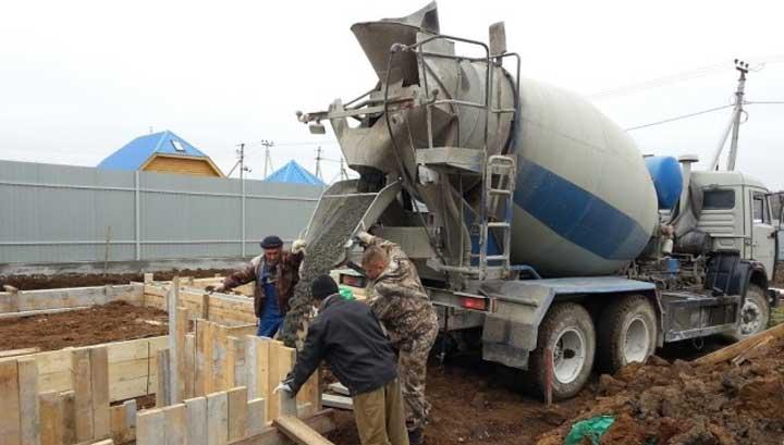Осуществление доставки бетона