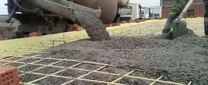 Технология укладки бетона